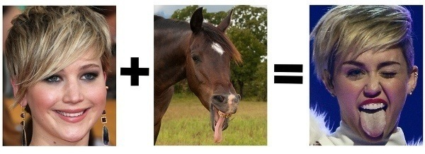 Miley Cyrus Face Equation