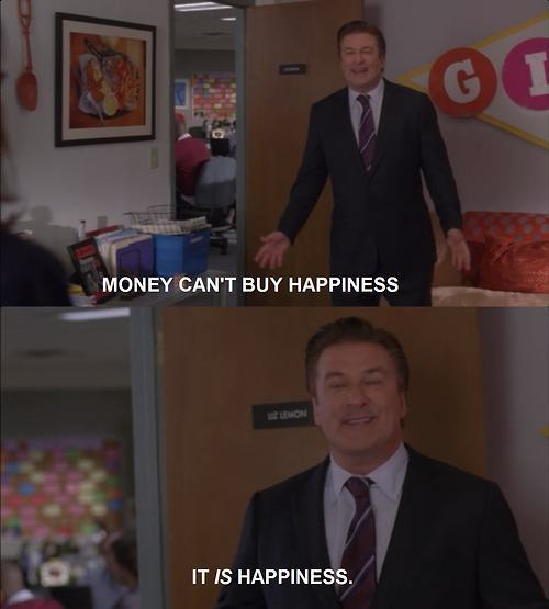 Money Is Happiness