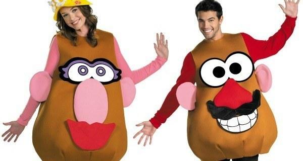 Mr. And Mrs. Potatohead Costumes