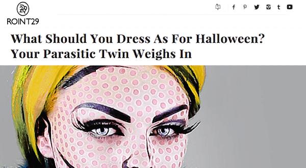 Parasitic Twin Halloween Feature