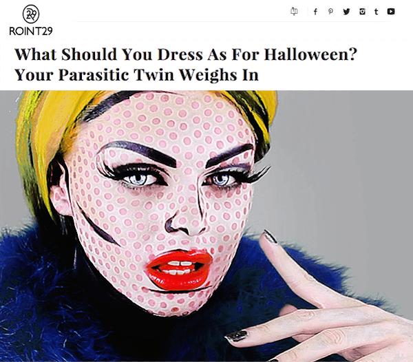 Parasitic Twin Halloween