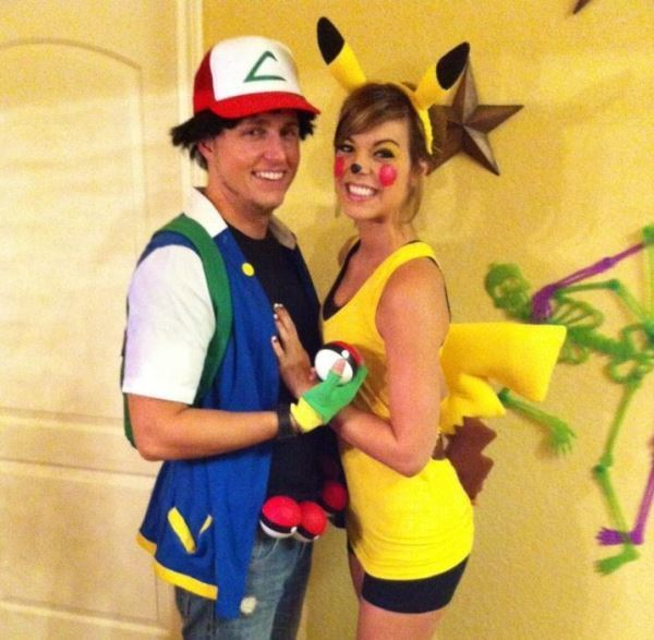 Pokemon Couple Costume