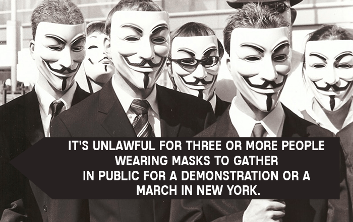 Public Demonstration Laws In New York