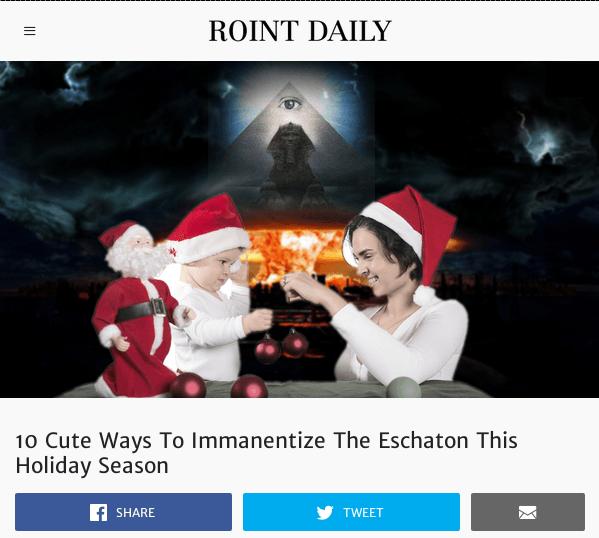 Roint Daily Eschaton