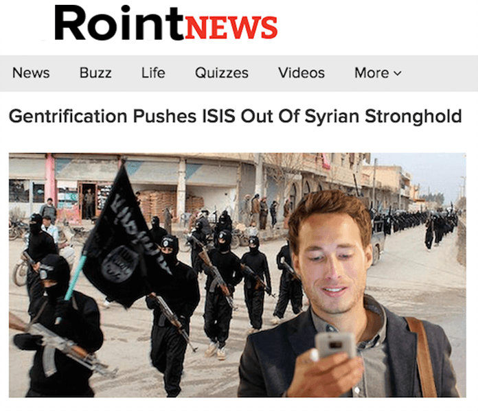 Roint Isis Gentrification