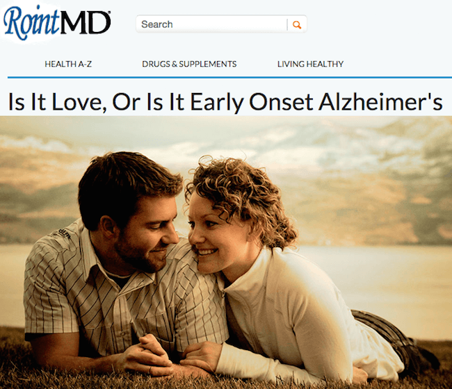 Roint Love Or Alzheimers