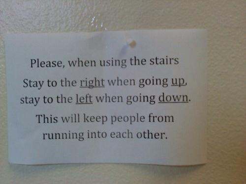 Stair Instructions