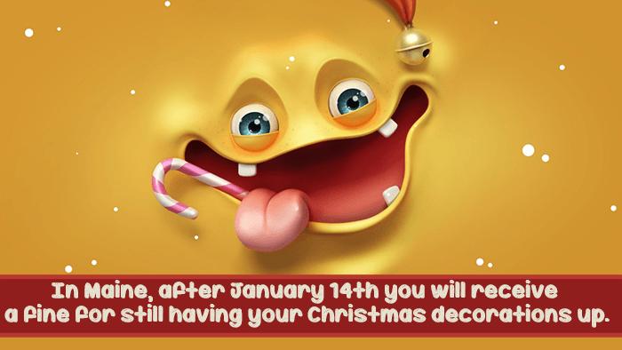 Stupid Laws Christmas Decorations