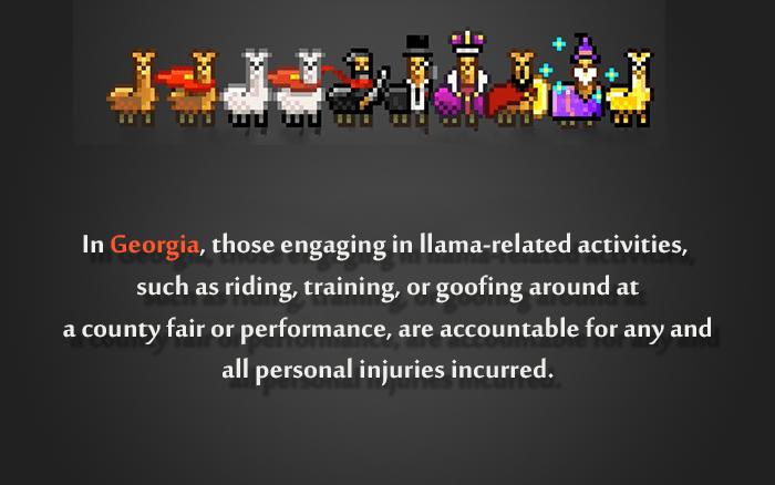 Stupid Laws Llama Activities