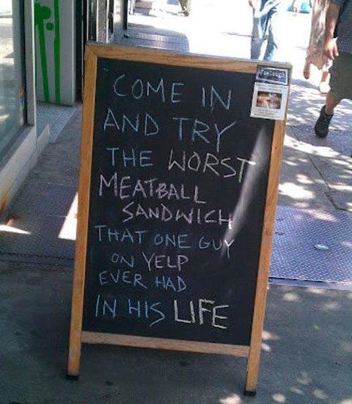 Worst Meatball
