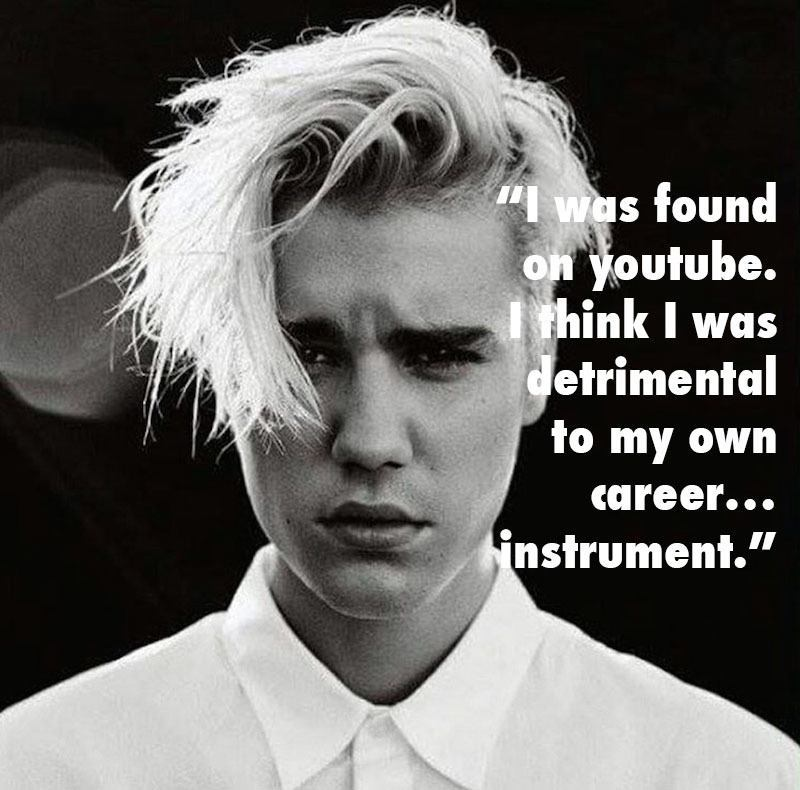 Justin Bieber Dumb Career