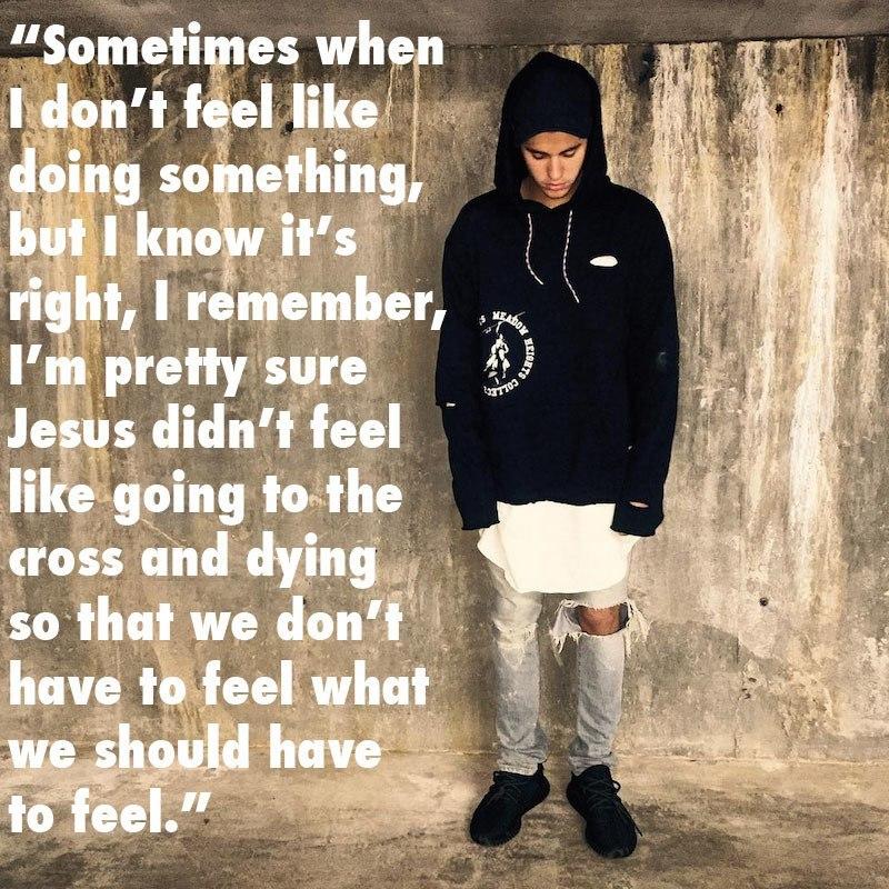 Justin Bieber Dumb Crucifixion