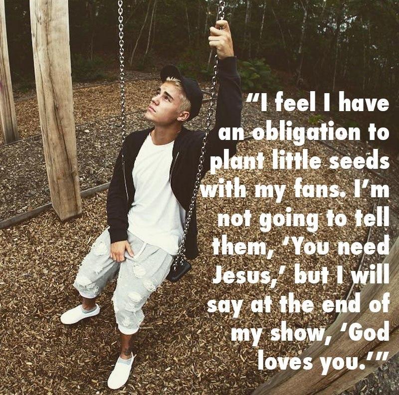 Justin Bieber Dumb God