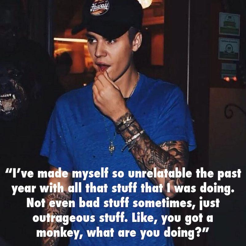 Justin Bieber Dumb Monkey