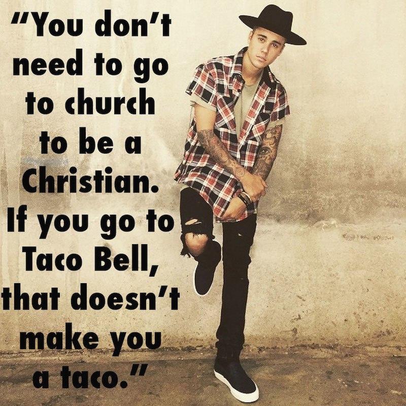 Justin Bieber Dumb Taco