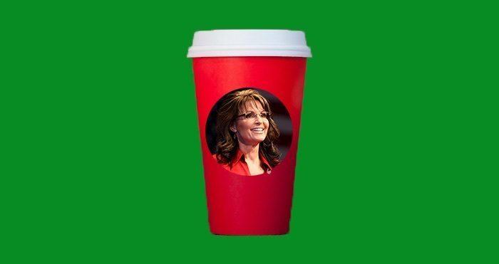 Starbucks Cup Sarah Palin