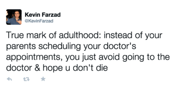 Adulthood Me Irl