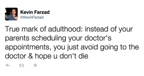Adulthood Me Irl
