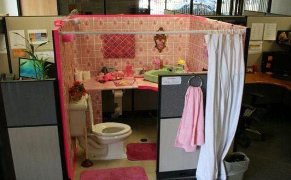 Bathroom Office