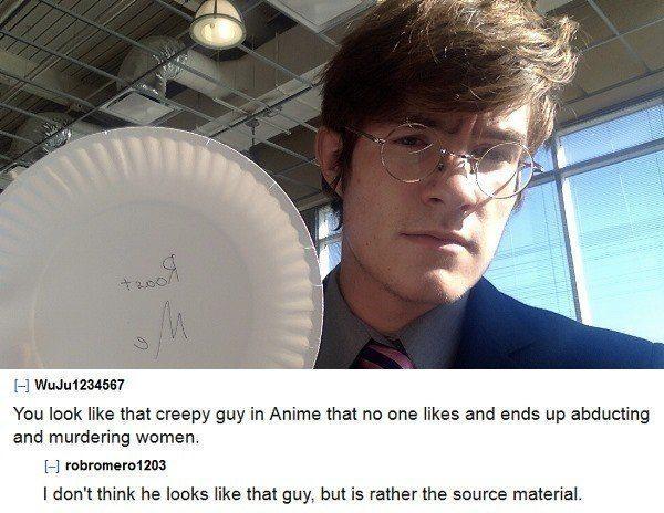 Creepy Anime Guy