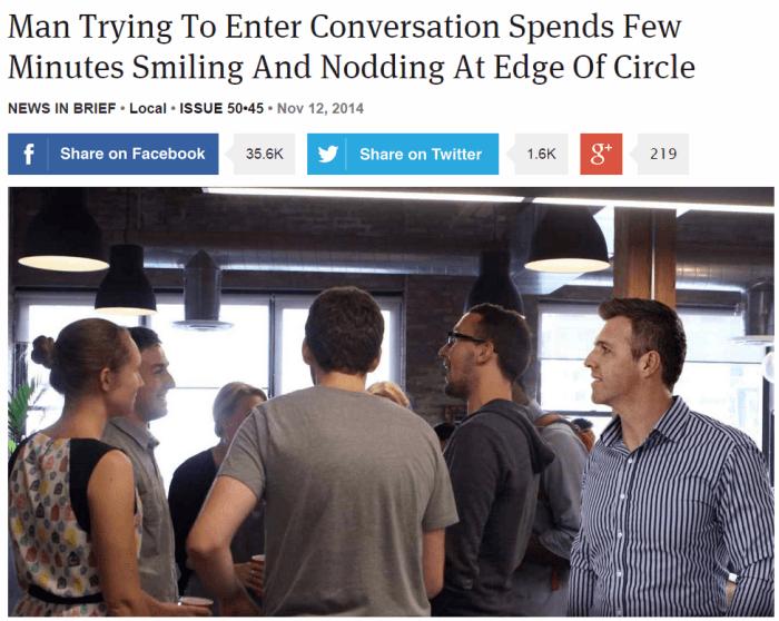 Entering Conversation