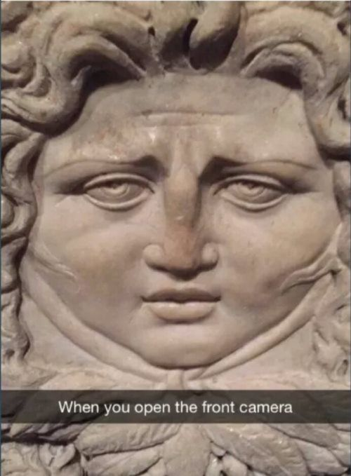 Front Camera Me IRL