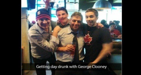 George Clooney Not A Celebrity