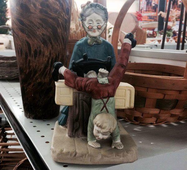 Grandma Statue