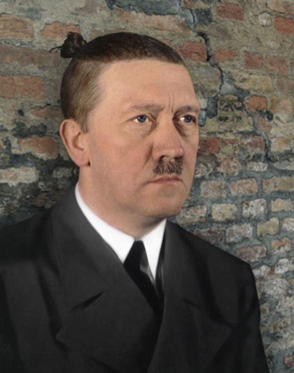 Hitler Man Bun