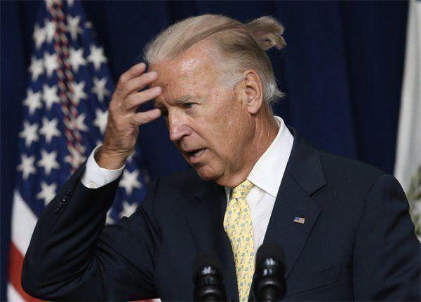 Joe Biden Man Bun