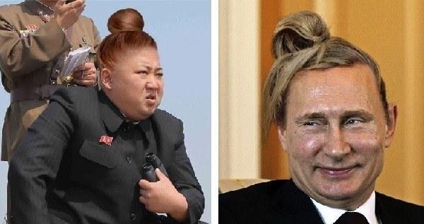 Kim Jong Un Man Bun