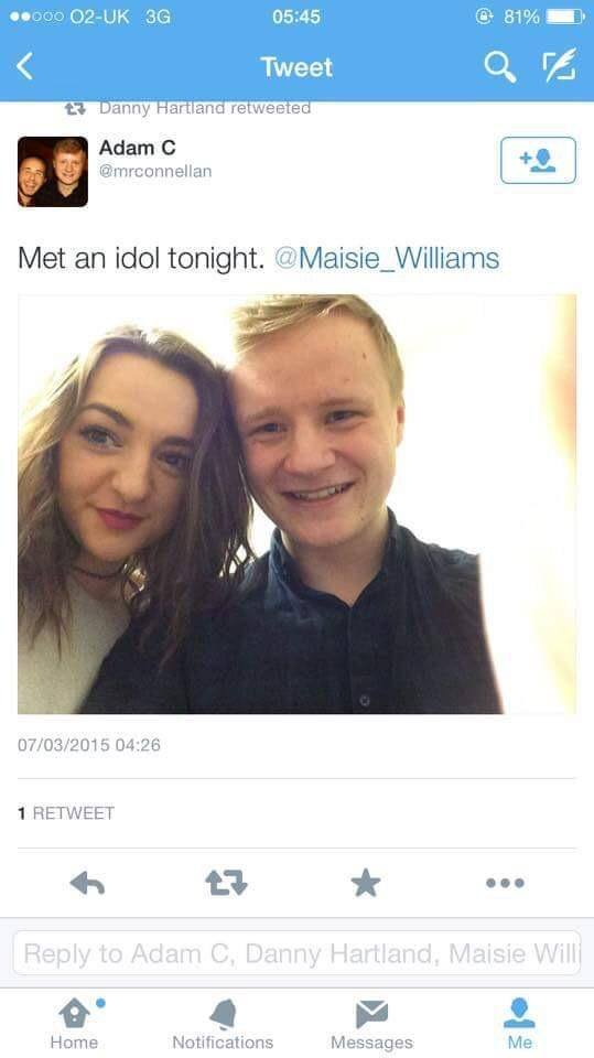 Maisie Williams Not Really Famous