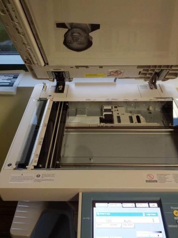 Nicolas Cage Printer