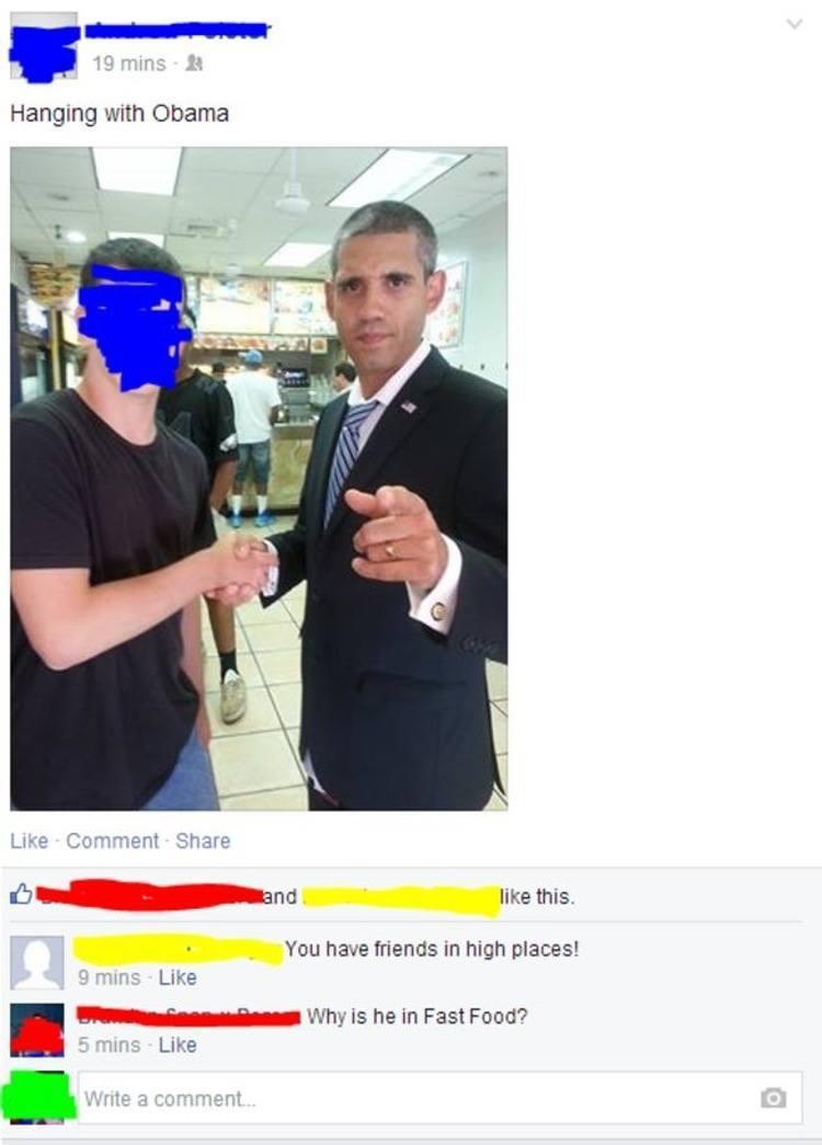 Obama Fast Food