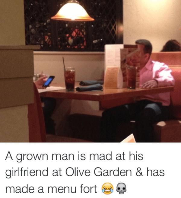 Olive Garden Argument