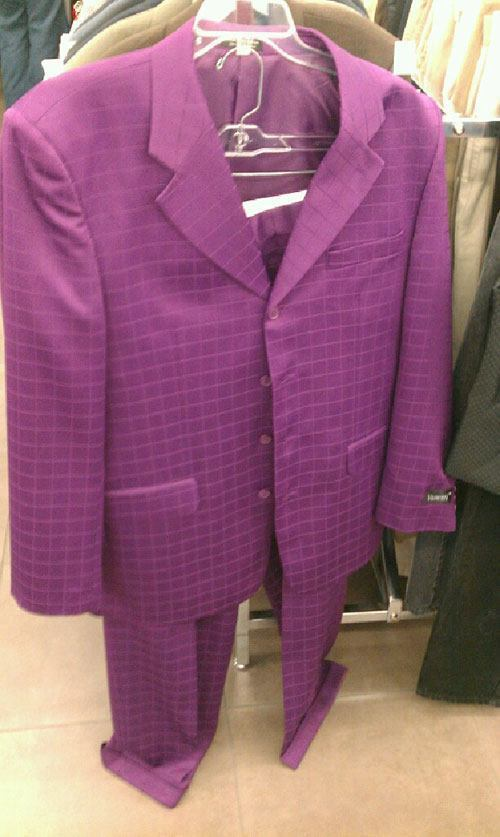 Purple Suit Thrift Shop