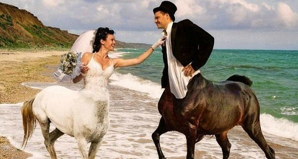 Russian Wedding Centaurs