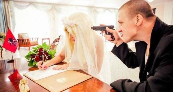 Russian Wedding Prenup Gun