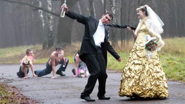 Russian Wedding Vodkapocalypse