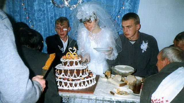 Sad Russian Wedding