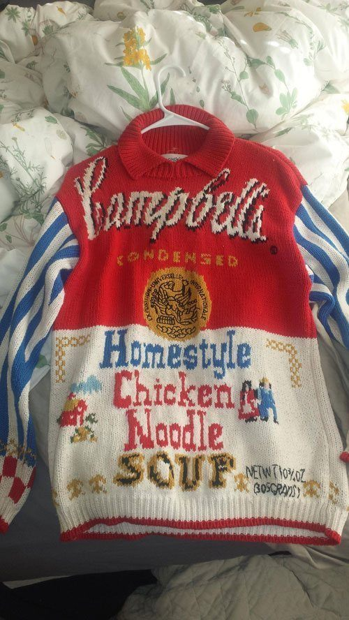 Soup Sweater Thrift Shop