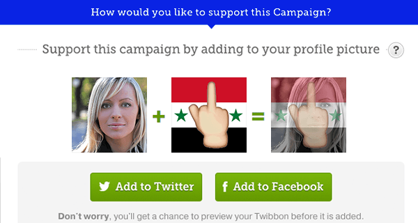 Syrian Refugees Republicans Facebook Filter