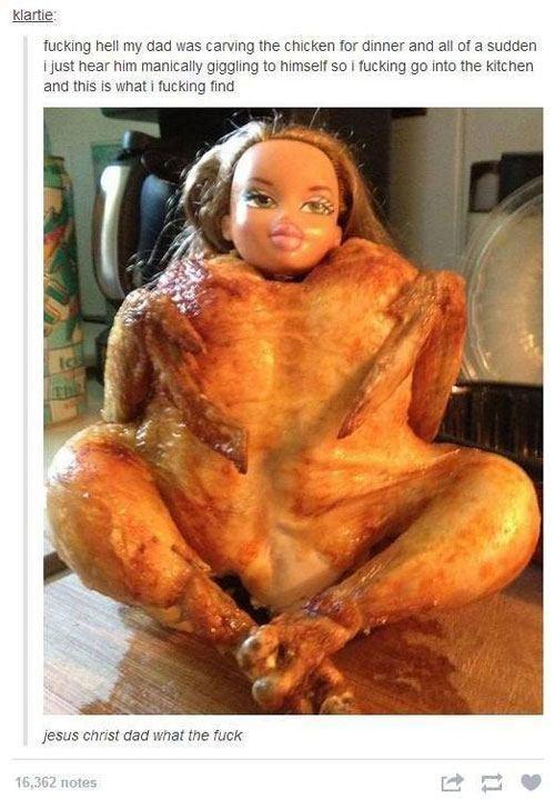Thanksgiving Barbie
