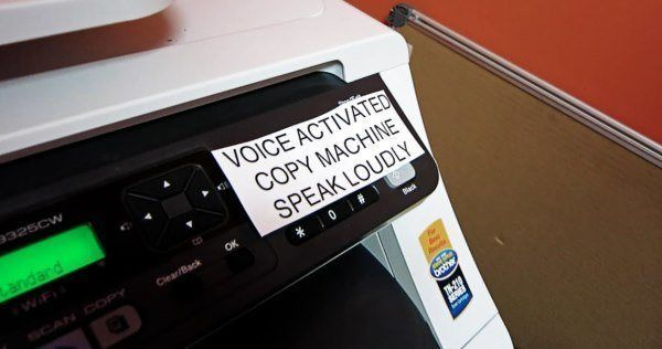 Voice Activated Copier Funny Office Pranks