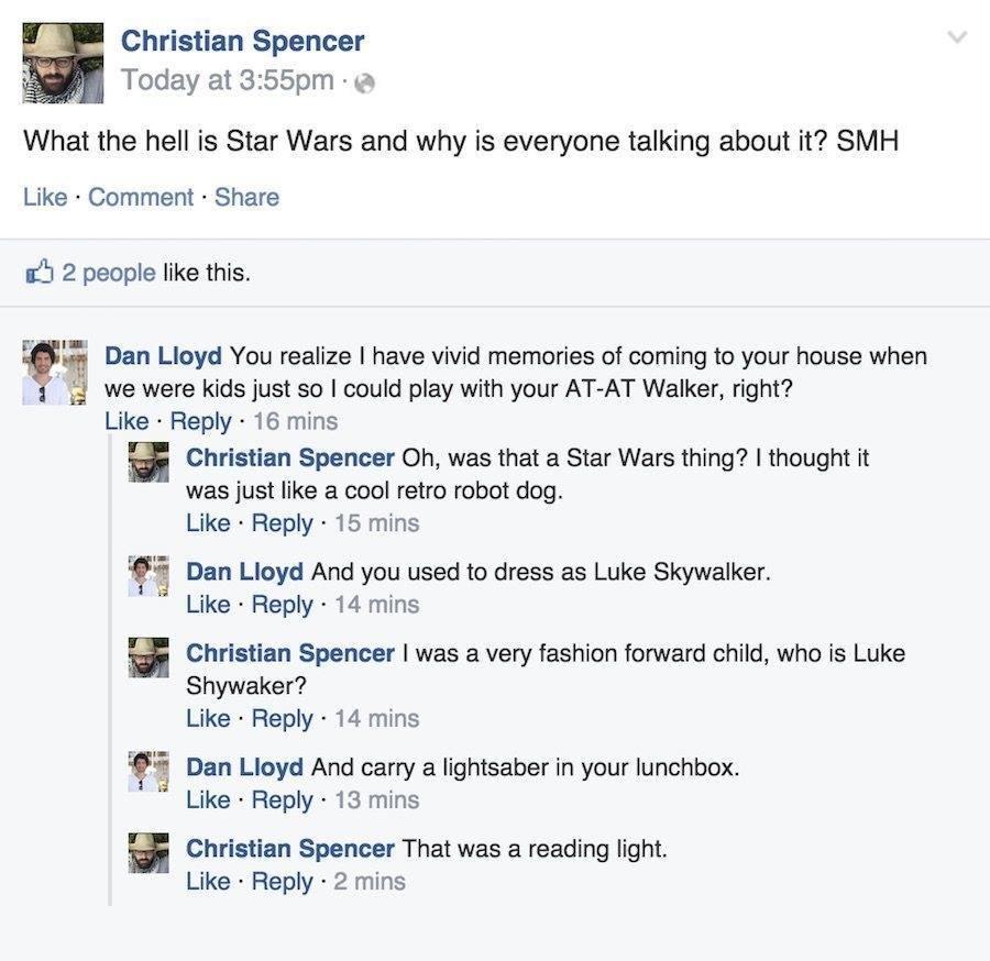 New Star Wars Movie Hipster