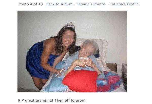 RIP Grandma Prom