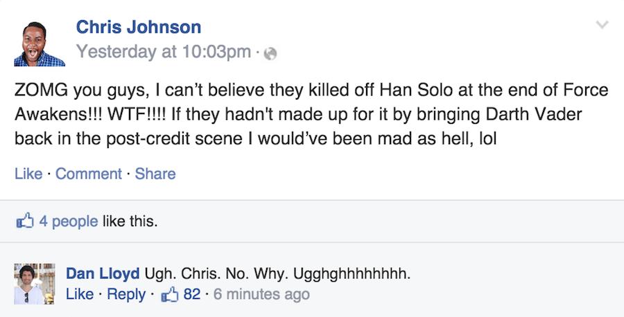 Star Wars Unfriend OG