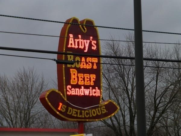 Arbys Sign