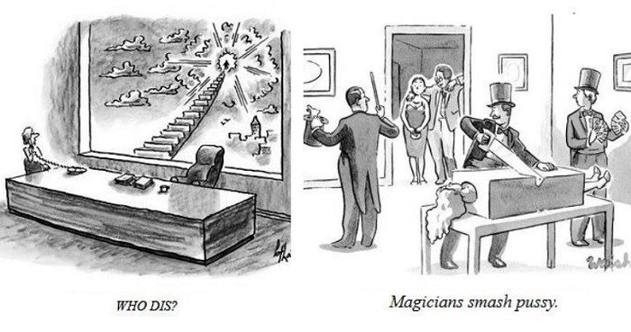 Bad New Yorker Cartoons