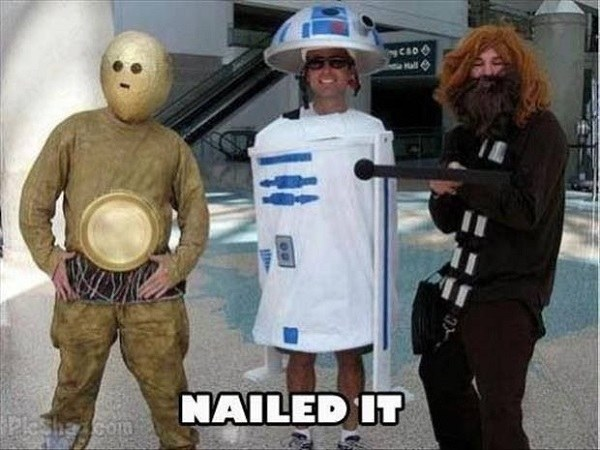 Bad Star Wars Cosplay